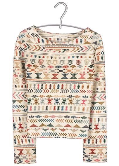 Pull motif Incas FOLK by VALENTINE GAUTHIER