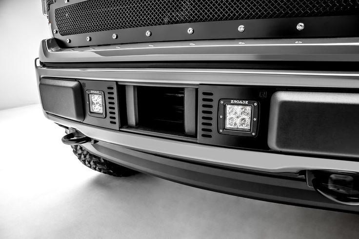 ZROADZ Lower Bumper Mounting Kit 2018 F150 w/ (2) 3 inch