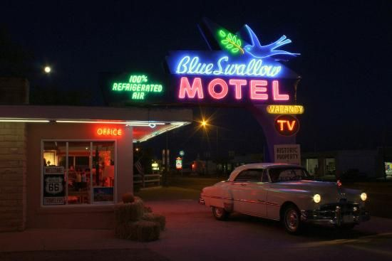 "Blue Swallow Motel - my quest for ""Supernatural""-esque motels"