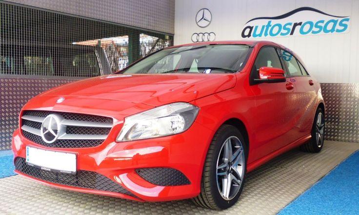 Mercedes clase A de segunda mano en Vigo motor 180 CDI de 109 c.v. del año 2013, 5 puertas, varias unidades  por 17.900 €  www.buscocoches.es #cochesdeocasión