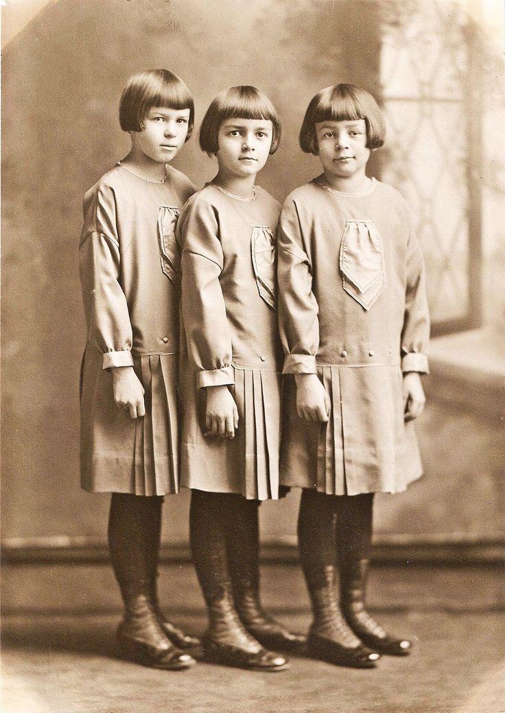 Sisters, c. 1920.