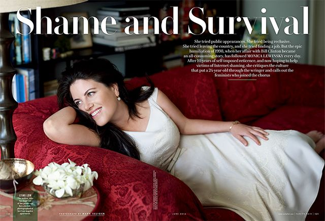Exclusive: Monica Lewinsky Writes About Her Affair with President Clinton | June 2014