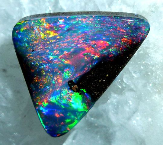 BOULDER OPAL 2.60 CTS MM 2001  FROM QUILPIE , AUSTRALIA  Opal Size:L - 10x10x3 MM