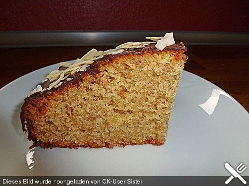 Single - Mandelkuchen mit Schuss einfacher Rührkuchen für eine 18er Springform oder 20er Kastenform