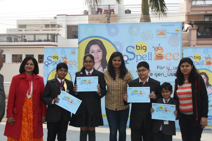 Chance was given to the Hallmarkites by '92.7 big fm Suno Sunao Life Banao 'through their spell bee competition held at the school. Selected students participated in the competition in which Ekagrah Agarwal of class II and Aneesh Tayal of IV scored highest in the Junior Category and in the Senior Category, Jia Kataria grabbed the second position where as Bhavya Mittal got the Winner's Trophy. The students had a valuable time with RJ Aakriti.  Visit http://www.hallmarkpublicschool.com/