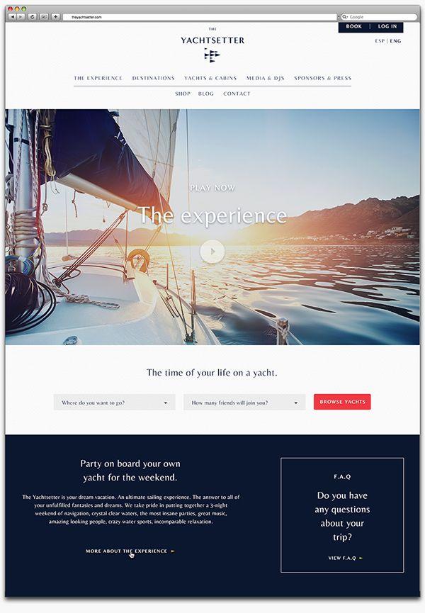 The Yachtsetter on Behance