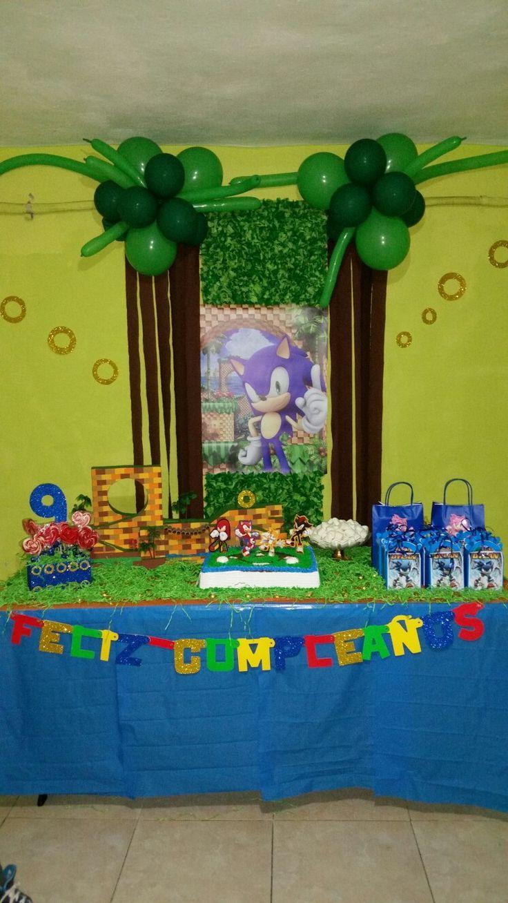 Sonic fiesta, decoración.