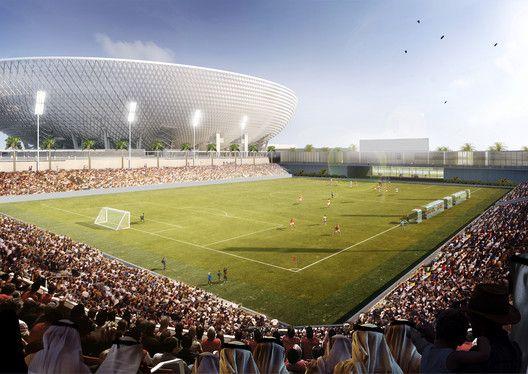 Perkins+Will projeta o futuro maior estádio dos Emirados Árabes Unidos,Cortesia de Perkins+Will