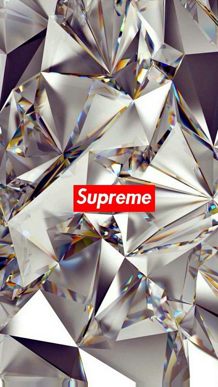 Pin By Jesus Munguia On Supreme Iphone Wallpaper Phone Wallpaper Diamond Wallpaper