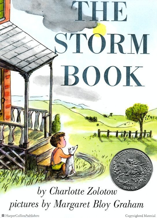 The Storm Book By Charlotte Zolotow Illustrated Margaret Bloy Graham