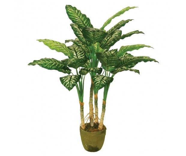 artificial dieffenbachia spacegreen
