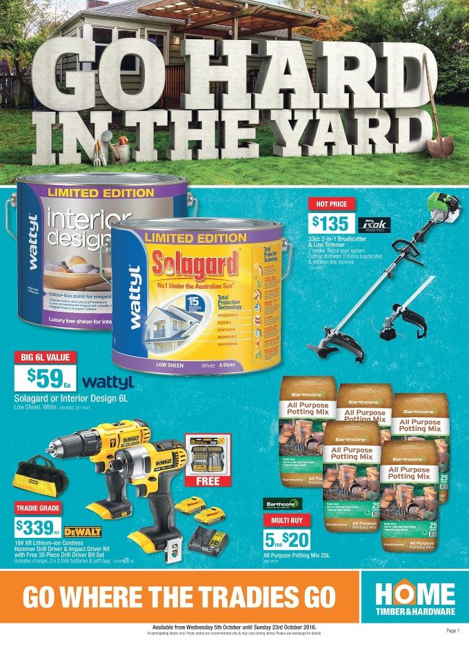 Home Hardware Catalogue 5 - 23 October 2016 - http://olcatalogue.com/hh/home-hardware-catalogue.html