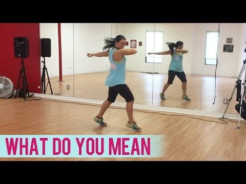 Justin Bieber - What Do You Mean (Dance Fitness with Jessica) - YouTube