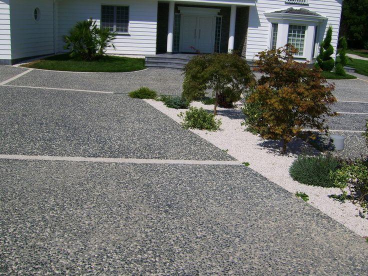 Pavimento exterior de hormigón efecto piedra CHROMOSTONE® by Stone International