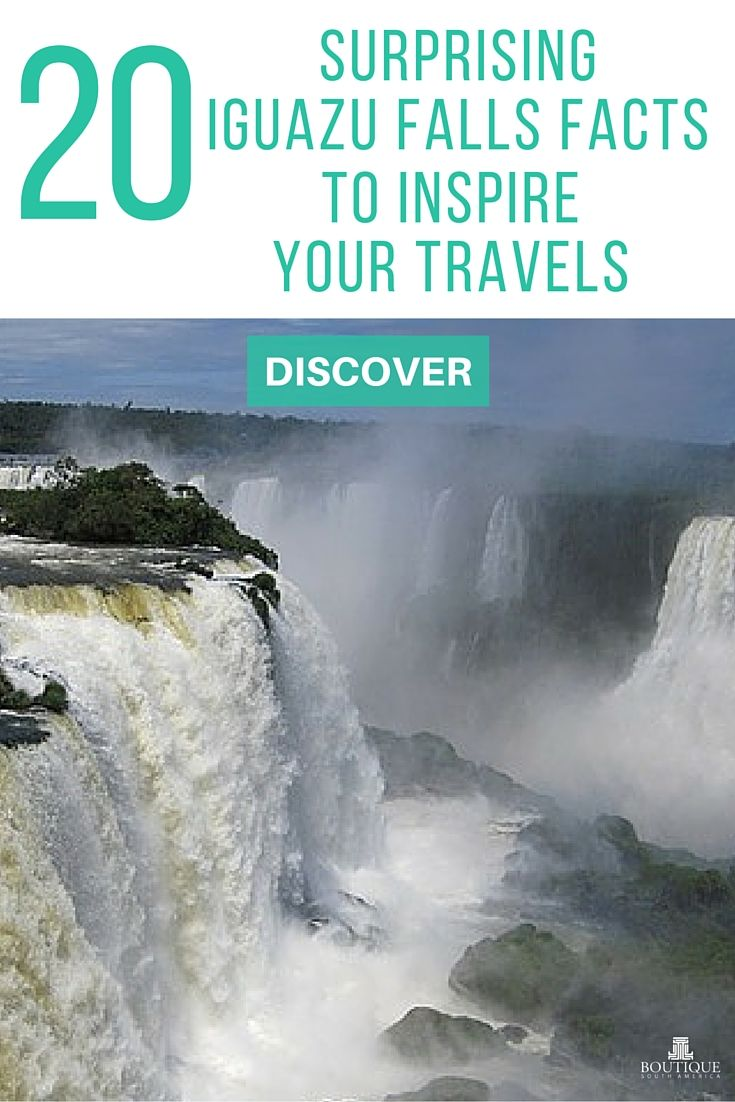 Discover 20 Surprising Iguazu Falls Facts to Inspire your Travels here: http://www.boutiquesouthamerica.com.au/blog/20-surprising-iguazu-falls-facts-to-inspire-your-travels/