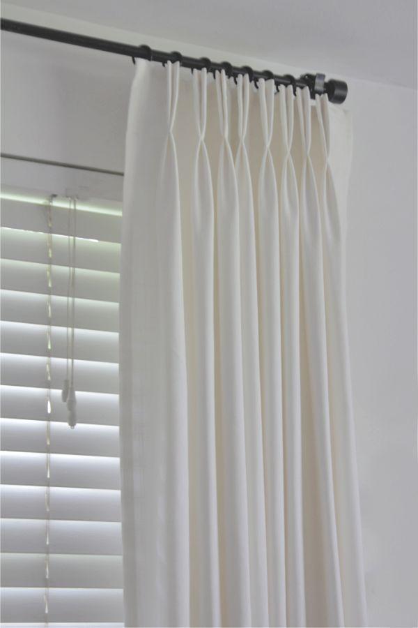 How To Make Ikea Ritva Curtains Look Like Expensive Custom Made Drapes Diy Diy Drapes Custom Drapes Curtains