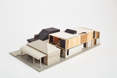 Architectural Model - Orient Street House, South Fremantle. Philip Stejskal Architecture.
