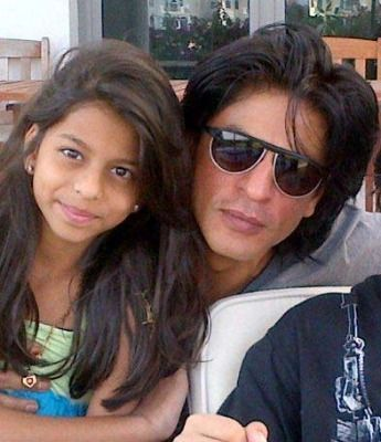 Shahrukh and Suhana Khan