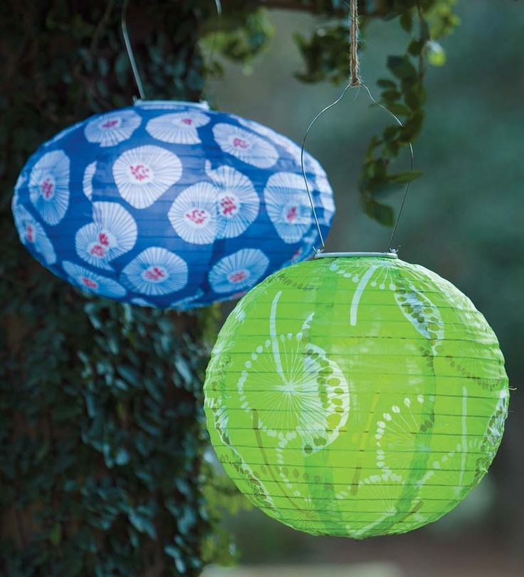 Colorful Soji Solar Lanterns light up the party! Weatherproof, durable and beautiful - great for any occasion.