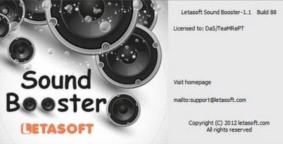 letasoft sound booster crack free download