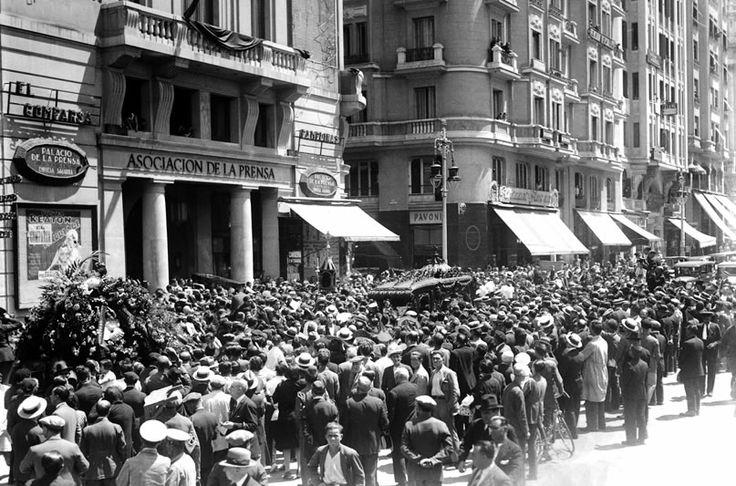 El entierro, 15 de julio de 1931.