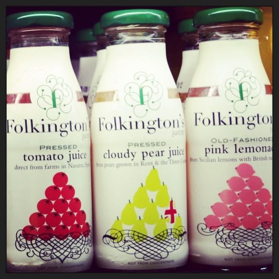 Rehydrate yourself this summer with Folkington's juice. Available at milK.