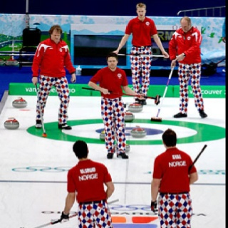 Curling is fashion...