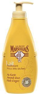 Lait Hydratant Peaux Très Sèches par Le Petit Marseillais : Fiche complète et 1833 avis consommateurs pour bien choisir vos produits Laits corporels