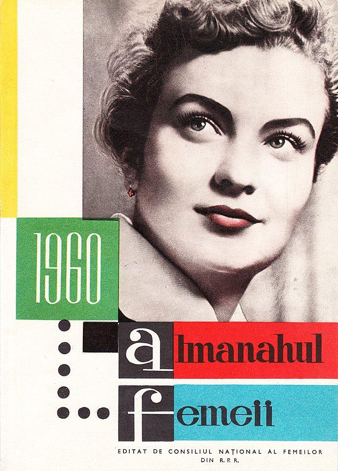 Graphic front - tiparituri - carte - Coperte de almanah din perioada comunista din ROMANIA