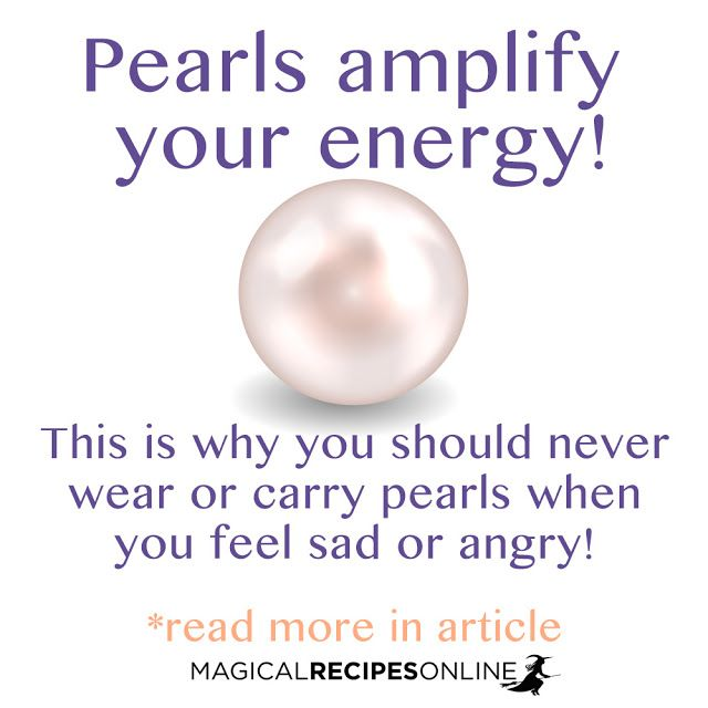 Pearl Magic the magical powers of Pearls a Money spell with a Pearl
