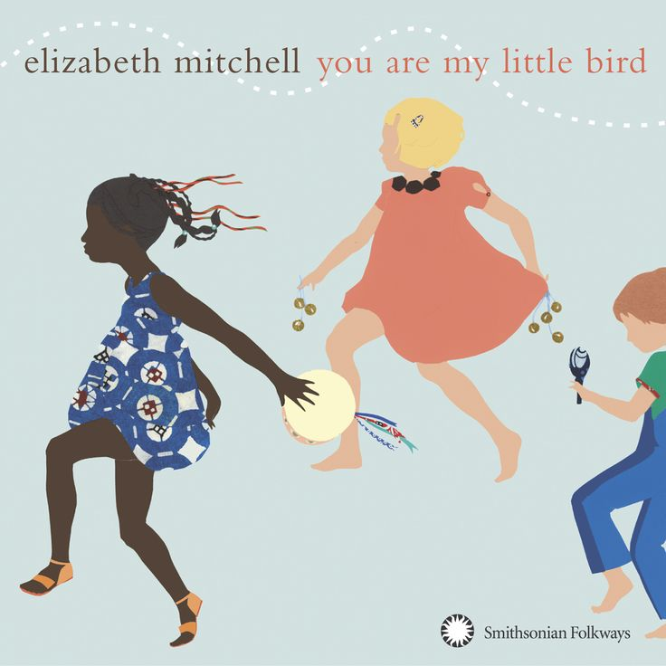 My kids are enchanted by the music collected and performed byElizabeth Mitchell, and so am I. She's wonderful!