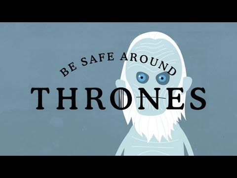 """These Animated """"Game Of Thrones"""" Deaths Are Absolutely Adorable"""