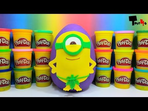 GIANT Minion Surprise Egg Play-Doh - http://insurancequindio.info/giant-minion-surprise-egg-play-doh/