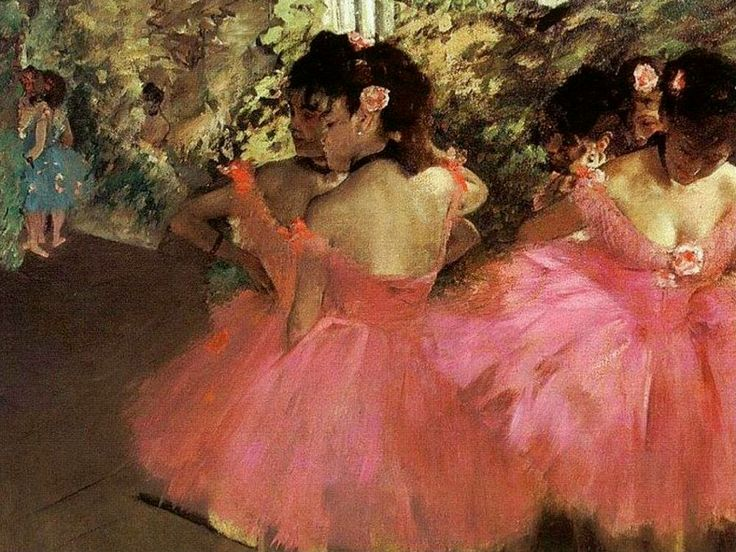 "EDGAR DEGAS ""Ballerine in rosa"" (1880-1885 ca.) Boston, Museum of Fine Arts"