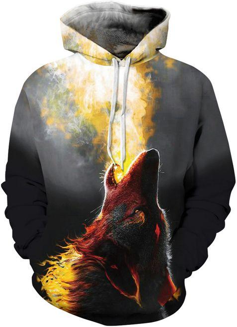 6edfaf4d5c04 Women Firing Wolf Hoodies in 2019 | Hoodies | Hooded sweatshirts ...