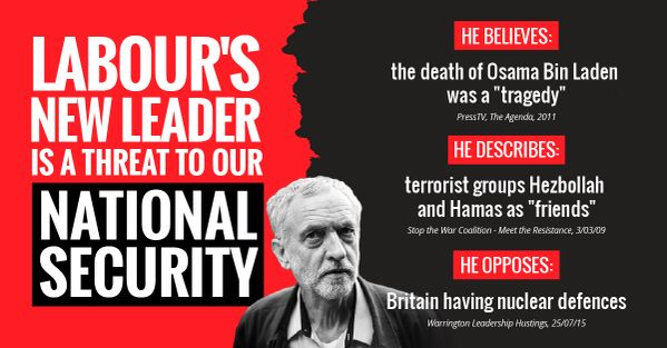 Posted on 13 September, 2015by Undercover1 Yesterday Jeremy Corbyn MP, a serial protester and radical campaigner, was elected in a landslide poll as leader of Britain's Labour Party. On the same da... http://winstonclose.me/2015/09/14/corbyn-upgraded-to-national-security-risk-first-step-of-a-very-british-coup-written-by-undercover1/