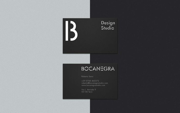 Business Cards and logotype. Bocanegra Studio - bocanegrastudio.com #businesscards #identity #branding #brandidentity