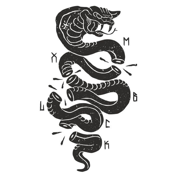Cobra tattoo print