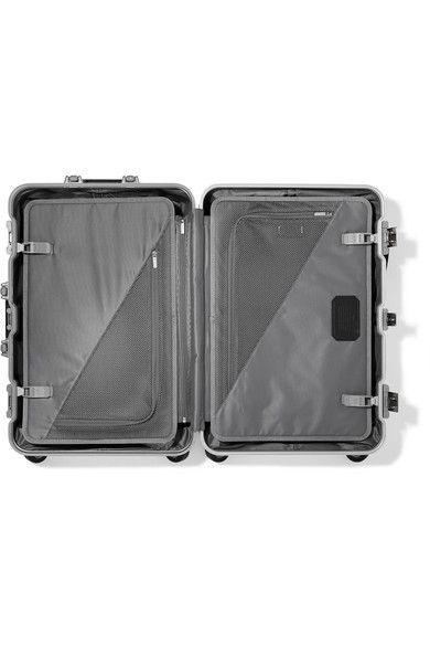 Tumi - Short Trip Aluminum Suitcase - Silver - one size