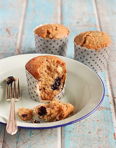Blueberry, lime & white chocolate muffins from Raspberri Cupcakes - amazing!