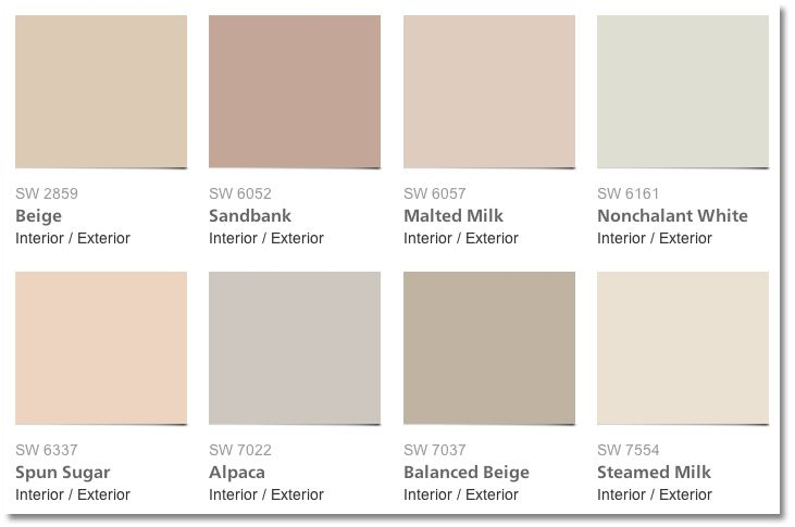sherwin williams color palettes - Google Search