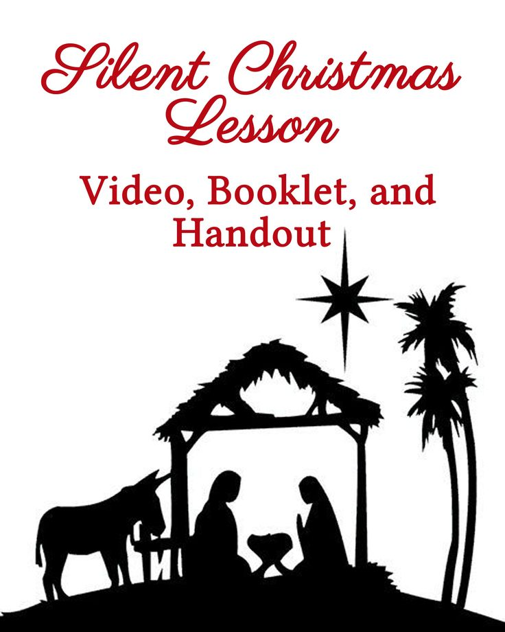 This Young Women Silent Christmas lesson includes a full video link, downloads for a booklet and handout, and description of what we did with it.