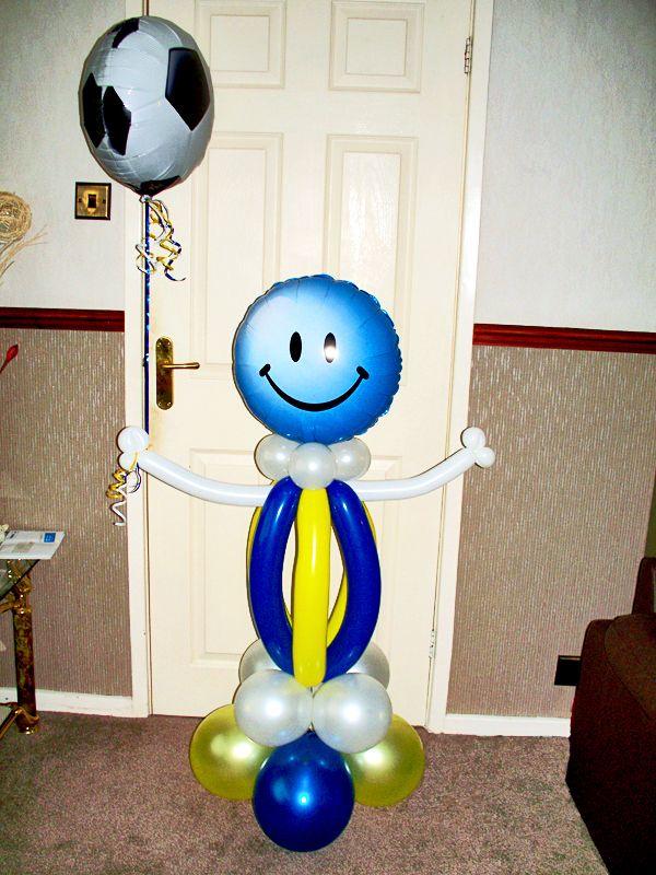 Birthday Balloon Display Football