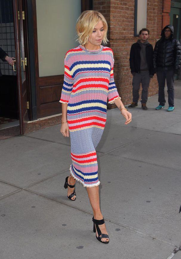 Le look de Sienna Miller