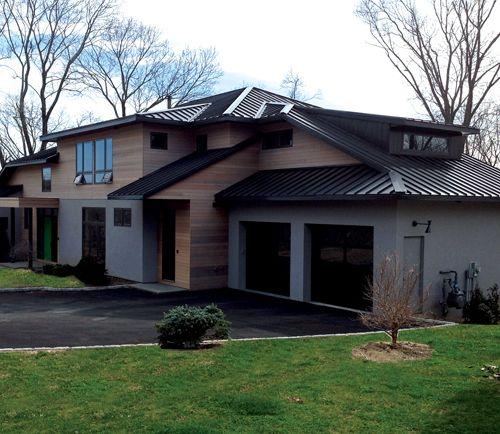 Bronze Metal Roof   Classy!