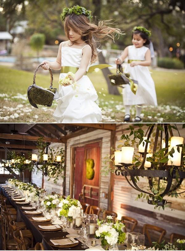 Rustic elegance. #tablescapes #weddings