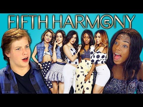 Teens React to Fifth Harmony - Worth It ft. Kid Ink - YouTube