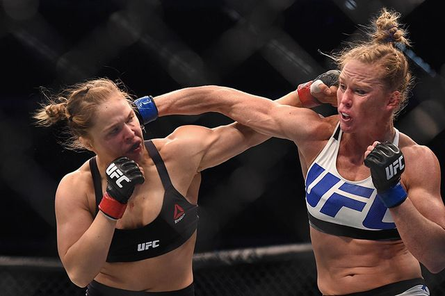 Surging UFC women's bantamweight contender Julianna Pena is sick of hearing everyone talk with such reverence about former champion Ronda Rousey and she's ready to tell it like she sees it.