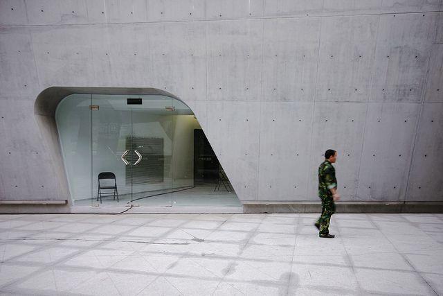 Hadid, Zaha _ Guangzhou Opera House _ Door by SteMurray, via Flickr