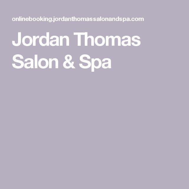 Jordan Thomas Salon & Spa